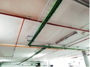 instal·lació interior