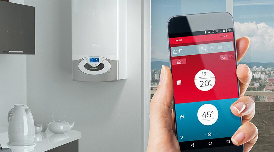 Genus Premium Net: la caldera conectada vía smartphone