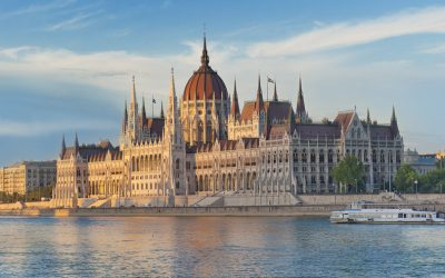 El sistema de refrigeración del Parlamento de Budapest