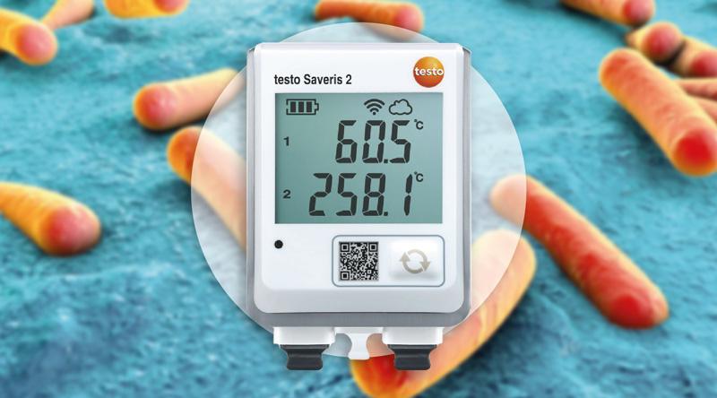El termómetro que facilita el control de la legionella
