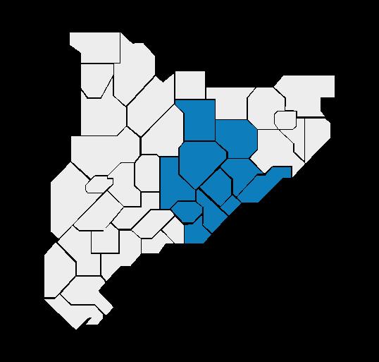 Servicio técnico, mapa de actuación