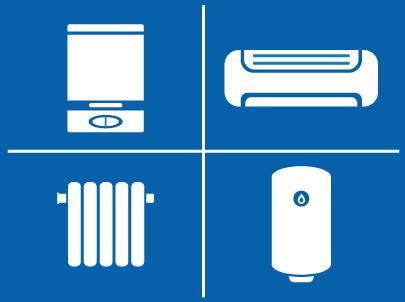 Calderas, climatización, radiadores, calentadores
