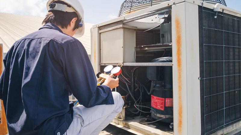 Peligros en la manipulación de gases fluorados